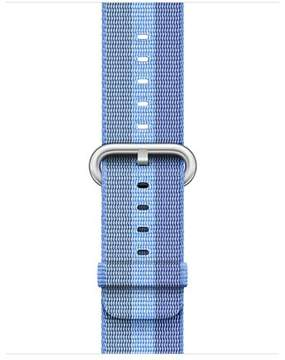 Apple 38mm Tahoe Blue Stripe Woven Nylon