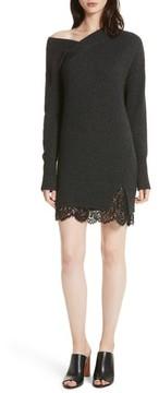 Brochu Walker Women's One-Shoulder Sweater Dress