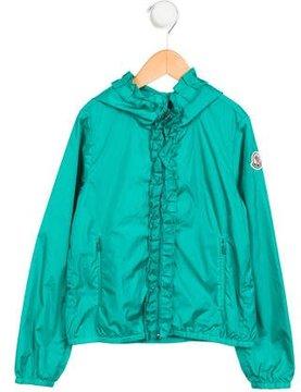 Moncler Girls' Darma Lightweight Jacket w/ Tags