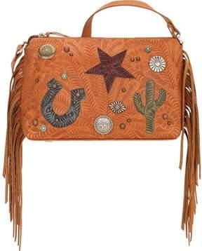 American West Sun Valley Zip Top Crossbody Bag (Women's)