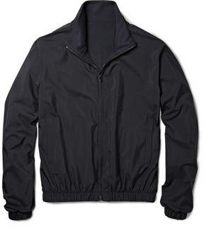 Loro Piana Reversible Storm System® Shell And Cashmere Bomber Jacket