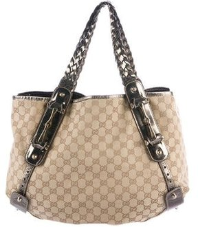Gucci Medium Pelham Tote - METALLIC - STYLE