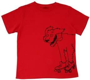 Stella McCartney Year Of The Dog Cotton Jersey T-Shirt