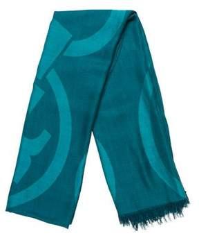 Tory Burch Silk-Blend Printed Scarf