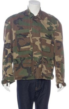 R 13 2017 Misfit Camouflage Field Jacket w/ Tags