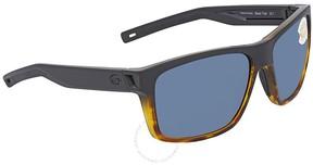Costa del Mar Slack Tide Grey Rectangular Sunglasses SLT 181 OGP