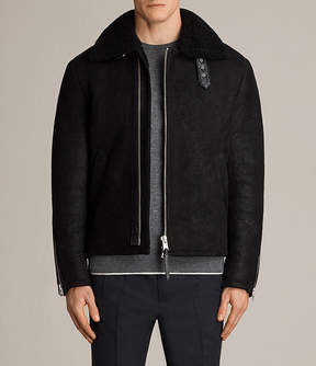AllSaints Dekley Shearling Jacket