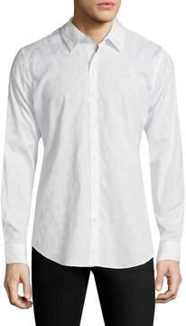 BLK DNM Men's 50 Spread Collar Sportshirt