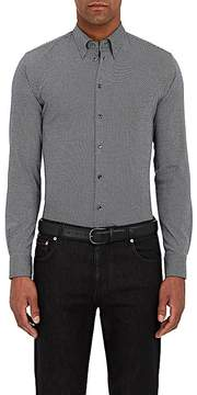 Giorgio Armani Men's Diamond-Knit Cotton Shirt