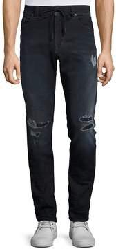 Diesel Men's Thavar Distressed Skinny-Fit Jeans