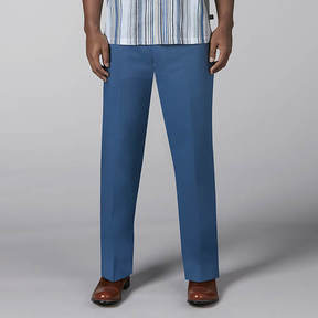 Stacy Adams Solid Linen Pant