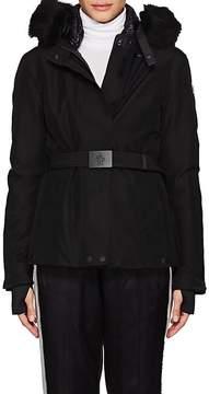Moncler Women's Laplance Fur-Trimmed Down Coat