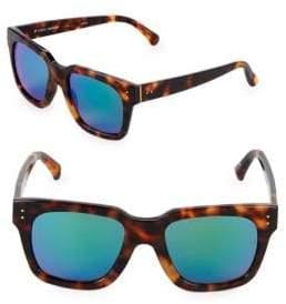 Linda Farrow 52MM Rectangle Sunglasses