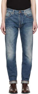 Nudie Jeans Blue Fearless Freddie Jeans