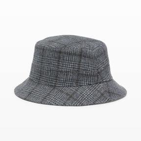 Club Monaco Glen Plaid Bucket Hat