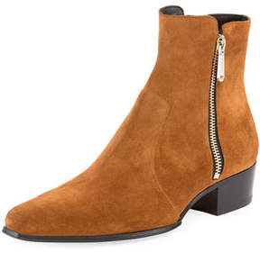 Balmain ANTHOS SUEDE BOOT