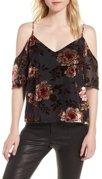 Cupcakes And Cashmere Women's Jovelyn Off The Shoulder Top