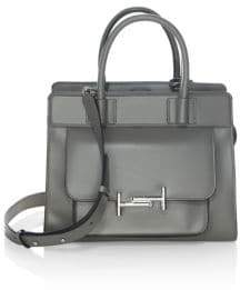 Tod's Double T Leather Satchel