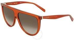 Celine Thin Shadow Rectangular Sunglasses CL41435S EFBZ3