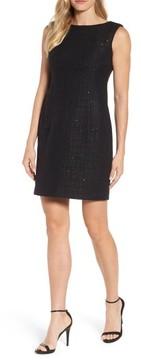 Anne Klein Women's Sequin Tweed Sheath Dress