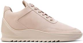 Filling Pieces low-top heel cap sneakers