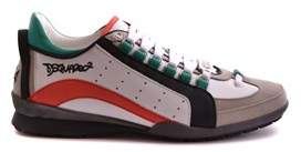 DSQUARED2 Men's Multicolor Leather Sneakers.