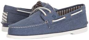 Sperry A/O 2-Eye Washed Men's Lace Up Moc Toe Shoes
