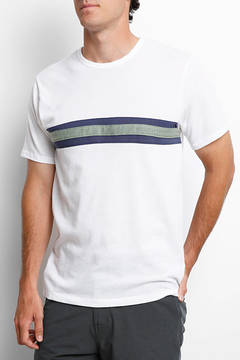 Alternative Apparel Eco-Jersey Colorblock Stripe Tee Shirt