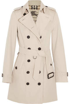 Burberry - The Sandringham Mid Cotton-gabardine Trench Coat - Beige