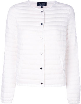 Armani Jeans padded cropped jacket