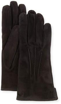 Portolano Mario Cashmere-Lined Suede Gloves
