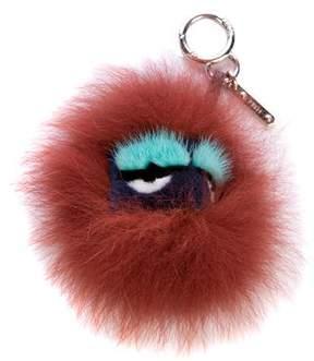 Fendi Blueminous Mini Bag Bug Charm