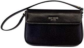 Kate Spade Chocolate Brown Wristlet - BROWN - STYLE
