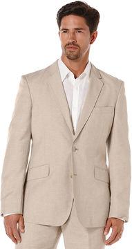 Cubavera Big & Tall Linen Pinstitched Blazer