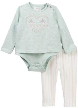 Jessica Simpson Bodysuit & Pants 2-Piece Set (Baby Girls)