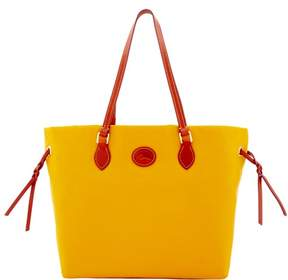 Dooney & Bourke Nylon Shopper Tote - YELLOW - STYLE