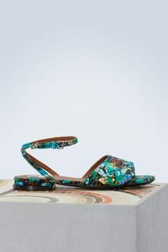Kenzo Leather flat Daria sandals