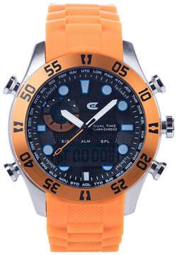 Croton N/A Mens White Bracelet Watch-Cx328043wswh