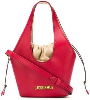 Jacquemus mini logo tote