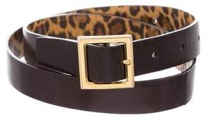 Dolce & Gabbana Leather Buckle Belt