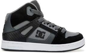 DC Kids' Rebound High Top Skate Shoe Pre/Grade School