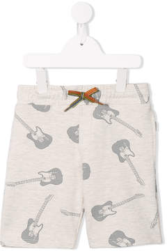 Paul Smith guitar print shorts