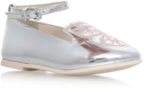 Sophia Webster Bibi Butterfly Mini Flat Shoes