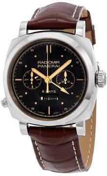 Panerai Radiomir 1940 Black Dial White Gold Men's Watch