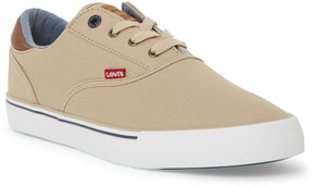 Levi's Khaki Ethan Canvas Low Top Sneakers