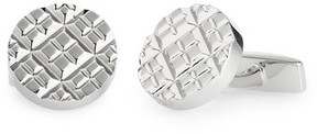 BOSS Men's Round Cuff Links
