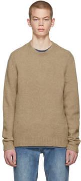 Rag & Bone Tan Merino Charles Sweater