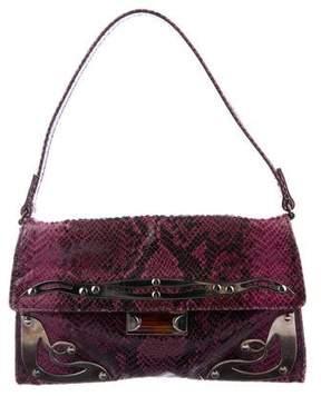 Miu Miu Embossed Leather Shoulder Bag
