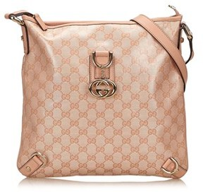 Gucci Pre-owned: Guccissima Abbey Shoulder Bag. - PINK - STYLE
