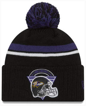 New Era Baltimore Ravens Diamond Stacker Knit Hat